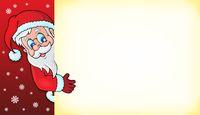 Lurking Santa Claus with copyspace 3