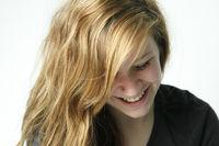 Gesicht einer jungen huebschen Frau