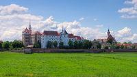 Torgau Burg Hartenfels - Hartenfels Castle in Torgau, Saxony
