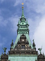 Hamburg - Spire of the Town Hall