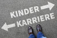 Kinder Kind Karriere Arbeit Leben Erfolg Job Business Konzept