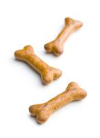 Dog food. bone snack.