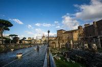 Trajan forum in italy