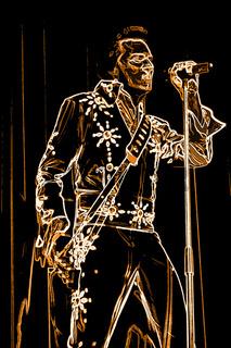 Looks like Elvis