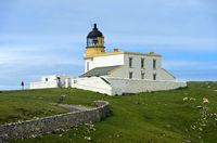Stoer Head lighthouse, Lochinver, Sutherland, Scotland, United Kingdom