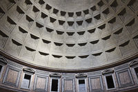 dome, Pantheon, basilica, Rome, Italy, Europe