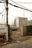 Demolition site, Puxi, Shanghai, China