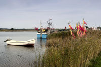 Fishing Boats on Darsser Ort in Germany