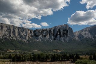 Massiv des Monte Tiscali bei Dorgali, Sardinien