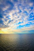 Sundown over Baltic Sea