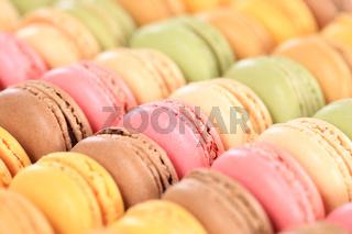 Macarons Macaroons Kekse Nachtisch Dessert aus Frankreich