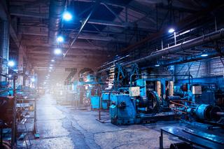 Industrial zone background