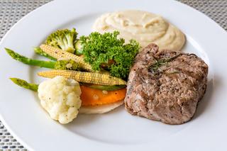 grilled fillet steak