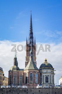 Riddarholmen Church in Stockholm Sweden