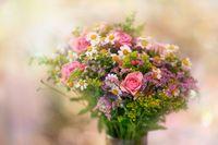 Beautiful bouquet - small focus