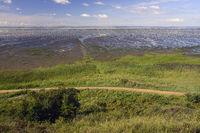 Wattenmeer bei Ebbe am  Morsum - -Kliff, Morsum,  Sylt, nordfrie