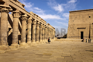 Egypt Philae Temple of Isis