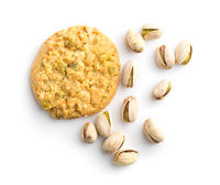 Sweet pistachio cookies and nuts.
