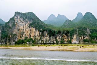 Karstlandschaft am Li Fluss