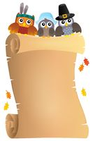 Thanksgiving theme parchment 7