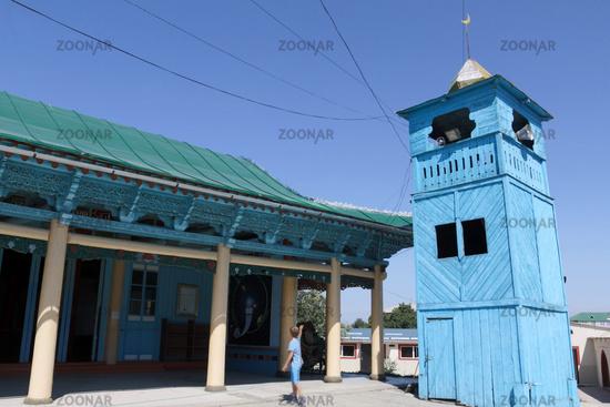 Dungan Mosque in Karakol, Kyrgyzstan