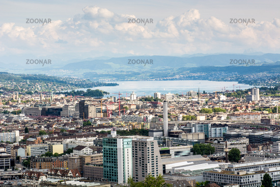 City of Zurich in Switzerland