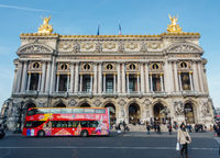 The Opera Garnier in Paris, France