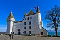 Nyon Castle, Chateau de Nyon, Nyon, Vaud, Switzerland