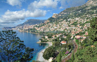 Monaco at french Riviera,South of France
