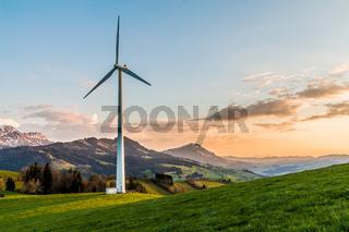 Windenergieanlage, Schweiz