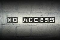 no access GR