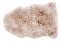 Sheepskin isolated on white