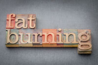 fat burning word abstract