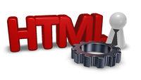 die buchstaben html