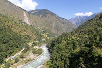 Annapurna Circuit green landscape