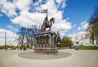 Monument of Prince Vladimir in Vladimir. Russia