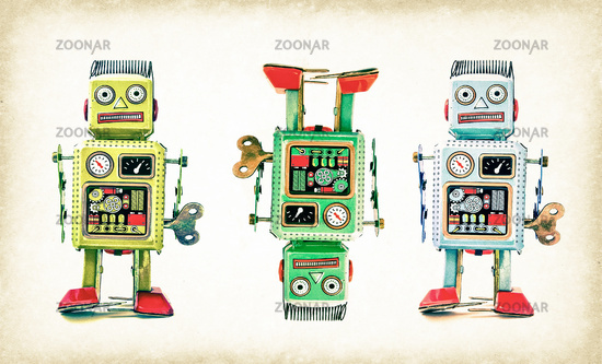 crazy robot team