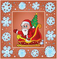 Christmas composition greeting card 8