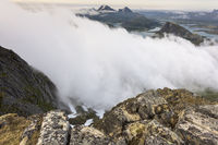 View to Vestvagoeya, Lofoten, Norway