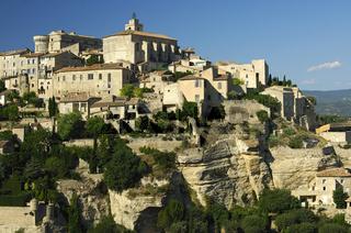 Kleinstadt Gordes auf dem Monts de Vaucluse