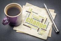 change word cloud on napkin