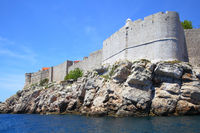 City walls of Dubrovnik,