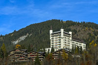 Chalets und  Gstaad Palace Hotel
