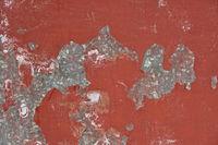 red steel sheet