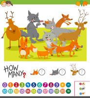 how many animals activity