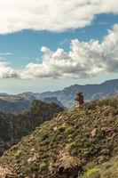 Landschaft mit Gebirge in Gran Canaria