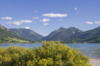 Schliersee - idyllic alpine lake in Upper Bavaria
