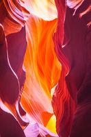 Incredible color slot canyon Antelope