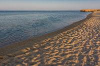 Egyptian beaches at sunset