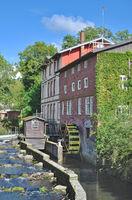 Gremsmuehle Watermill in Bad Malente,Holstein Switzerland,Schleswig Holstein,Germany